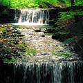 Spring Waterfall by Mariola Bitner
