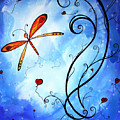 Springs Sweet Song Original Madart Painting by Megan Duncanson