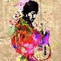 Springsteen Colored Grunge by Daniel Janda