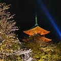 Springtime At Kiyomizu-dera by Brian Kamprath