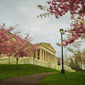 Springtime At The Buffalo History Museum - Artistic by Chris Bordeleau