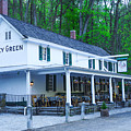 Springtime At The Valley Green Inn by Bill Cannon