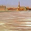 Springtime Lac St Louis Qc by Chris  Riley