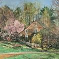 Springtime On Longhill by Robert Tutsky