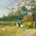 Springtime by Sir Alfred East