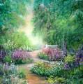 Springtime Walk by Sally Seago
