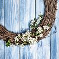 Springtime Wreath by Amanda Elwell