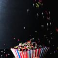 Sprinkles On Cup Cakes by Nigel Bangert