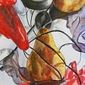 Spying On Fruit by Evguenia Men