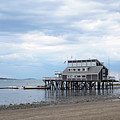Sqantum Yacht Club Wollaston Beach Quincy Ma by Toby McGuire