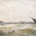 Squally Weather, Portsmouth by Thomas Bush Hardy