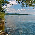 Squam Lake In New Hampshire   by Ruth Hager