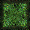 Square Crop Circles Three by Diane Parnell
