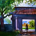 Square Gate by Prafulla B Shukla