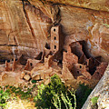 Square Tower Overlook - Alcove Dwellers by Glenn Smith