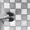 Squares And Feet by Melvi Morfe