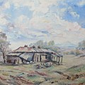Squatter's Arms Inn, Ruins, Cookardinia. 1 Of Pair. by Ryn Shell