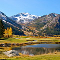 Squaw Valley In The Fall by YJ Kostal