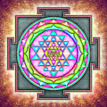 Sri Yantra - Artwork 7.3 by Dirk Czarnota
