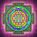 Sri Yantra - Artwork 7.5 by Dirk Czarnota