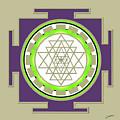 Sri Yantra Of Prosperity by Lance Sheridan-Peel