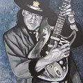 Srv - Stevie Ray Vaughan  by Eric Dee