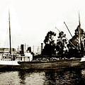Steam Schooner Helene At San Padero by California Views Archives Mr Pat Hathaway Archives