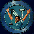 Ssc Napoli Painting by Paul Meijering