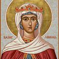 St. Abigail - Jcabi by Joan Cole