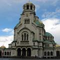 St Alexander Nevski Cathedral In Sofiq by Iglika Milcheva-Godfrey