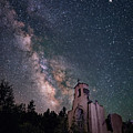 St. Aloysius Church Ruin Under The Stars by David Soldano