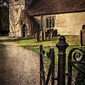 St Andrews At Chaddleworth Berkshire by Ian Lewis