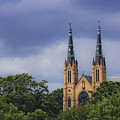St Andrews Catholic Church Roanoke Virginia by Teresa Mucha