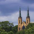 St Andrews Catholic Church Roanoke Virginia by Teresa Mucha