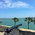 St. Augustine Historical Fort by Linda Dautorio