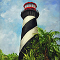 St. Augustine Lighthouse by Carolyn Shireman