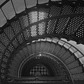 St. Augustine Lighthouse Spiral Staircase II by Clarence Holmes