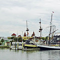 St Augustine Marina From The Water by D Hackett