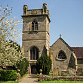 St Bartholomew's Church - Moreton Corbet by Edward Burchnall