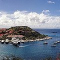 St. Barths Harbor At Gustavia, St. Barthelemy by Lars Lentz