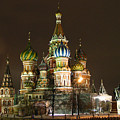 St Basil Basilica by Gene Sizemore