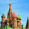 St. Basil's Cathedral Moscow by Dominic Piperata