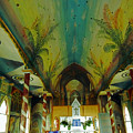 St Benedicts Painted Church 6 by Ron Kandt