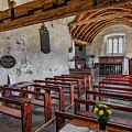 St Celynnin Church  Interior by Adrian Evans