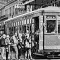 St. Charles Streetcar by William Morgan