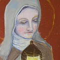St. Clare Of Assisi II by Susan  Clark