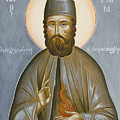 St Efraim Of Nea Makri by Julia Bridget Hayes