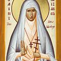 St Elizabeth The New Martyr by Julia Bridget Hayes