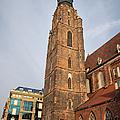 St. Elizabeth's Church Tower In Wroclaw by Artur Bogacki