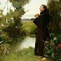 St. Francis by Albert Chevallier Tayler